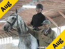 Christoph Hess<br> Assisting<br> Lawrence Poulin<br> Cody<br> 12 yrs. old Gelding<br> Swedish Warmblood<br> Training:4th Level<br> Duration: 51 minutes