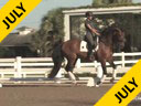 Jan Brink<br> Assisting<br> Sallie Spenard<br> Riding<br> Dutch Gelding<br> Training: 4th Level<br> Duration: 39 minutes