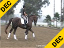 Guenter Seidel<br> Assisting<br> Sarah Christy<br> French Prince<br> Wurttemberger<br> 8yrs. old Gelding<br> Training: 4th Level<br> Duration: 42 minutes