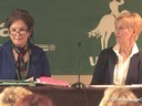 """USDF Annual Convention Presents<br> Kathy Connely<br> &<br> Betsy Steiner<br> """"How to Develop a Winning Program and<br> Partnership With Your Horse"""