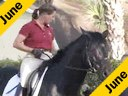 Bo Jena<br>Assisting<br> Jennifer Beaumert<br>Decartes<br>8 yrs. old Oldenburg Stallion<br>by:De Niro<br>Owned by: Cathy Shelton<br>Training: 4th Level<br>Wellington Florida<br>Duration: 43 minutes