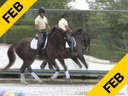 Kathy Connelly<br> Assisting<br> Ryan Yap<br> Fortissimo<br> Oldenburg<br> by: Florestan<br> 6 yrs. old Gelding<br> Training: FEI 6 yrs.old Test<br> Duration: 26 minutes