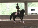 The Georgia Dressage & Combined Training Association<br>Day 1<br> Guenter Seidel<br> Assisting<br> Ashley Marascalo<br> Don Frederic<br> Hanoverian<br> 4 yrs. old Gelding<br> Owners: High Valley Hanoverians<br> Training: Trainig Level<br> Dur