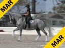 Pam Goodrich<br> Assisting<br> Jocelyn Wiess<br> Lamborghini<br> Danish Warmblood<br> by: Michelino<br> 15 yrs. old Gelding<br> Training: Grang Prix<br> Owner: Jocelyn Weiss<br> Duration: 41 minutes